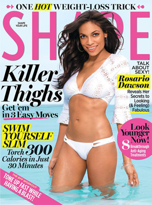Rosario gives Shape the skinny