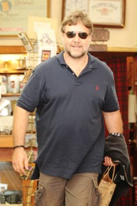 Russell Crowe's twitter diet diary