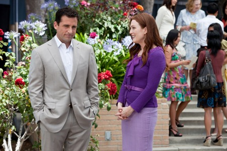 Steve Carell and Julianne Moore in Crazy Stupid Love