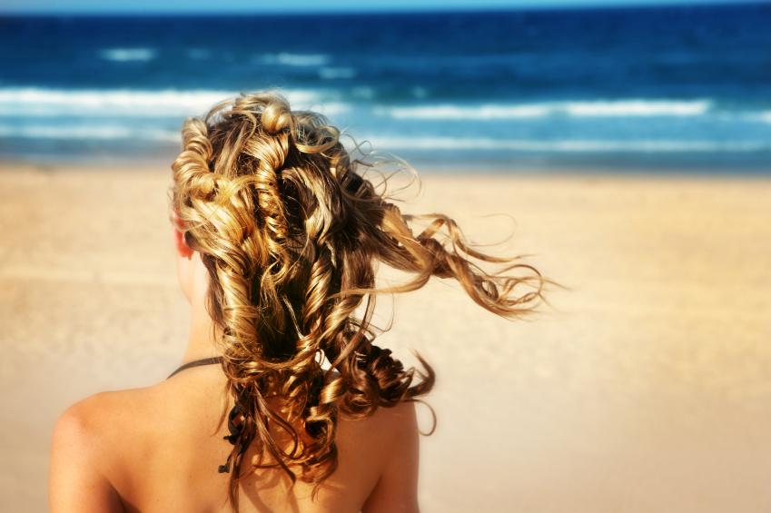 Sun-safe haircare