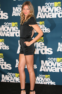 Cameron Diaz Romper MTV Movie Awards 2011