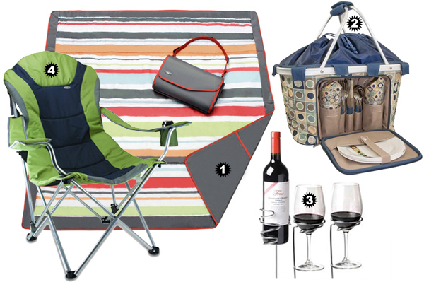 Summer picnic essentials