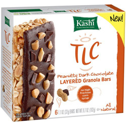 Kashi TLC Peanutty Dark Chocolate Layered Granola Bars 