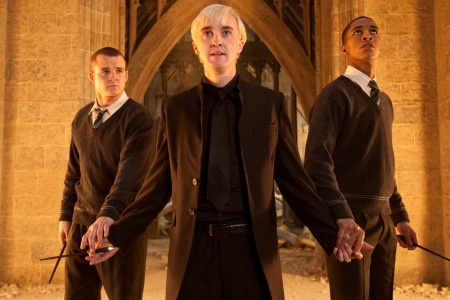 Tom Felton in Harry Potter and the Deathly Hallows Part 2