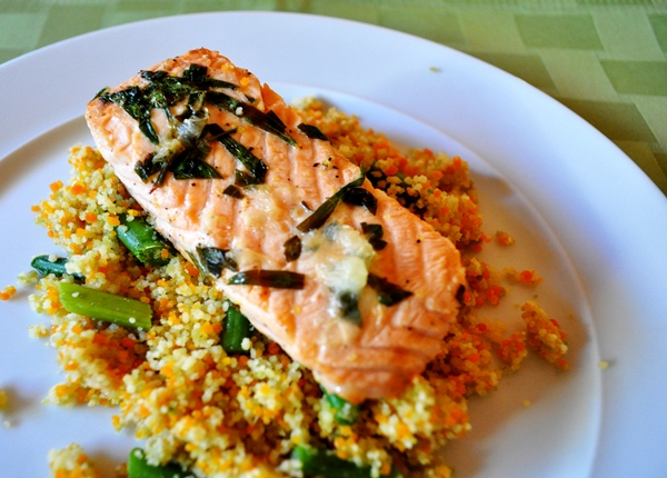 Salmon made quick and easy