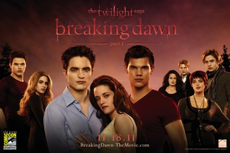 Twilight Saga Breaking Dawn Comic-Con Poster