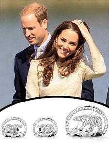 William & Kate's dazzling diamonds