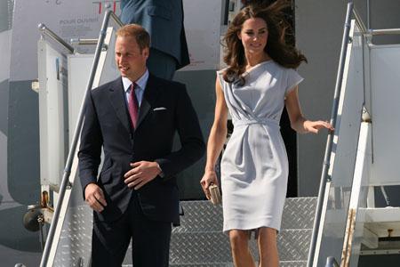 William & Kate hit U.S. soil