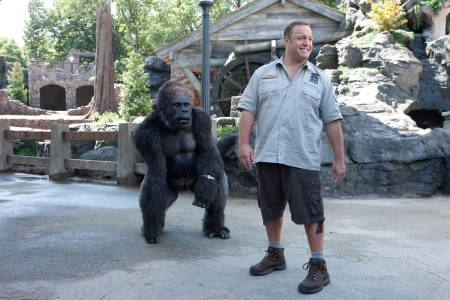 Zookeeper star Kevin James goes ape