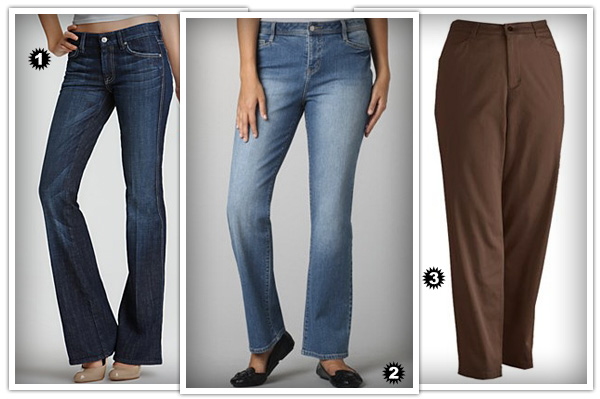 Best pants for pear body shapes