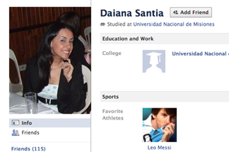 Possible Breaking Dawn hacker Daiana Santia