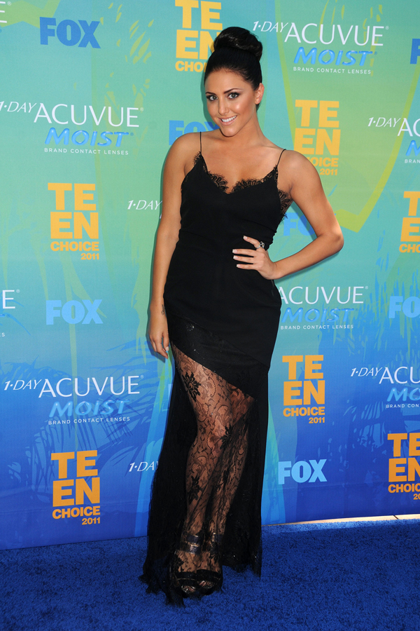Cassie Scerbo at the TCAs