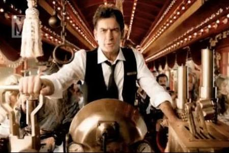 Charlie Sheen Crazy Train promo