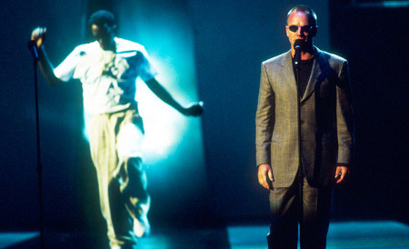 P. Diddy and Sting: The missed shot.