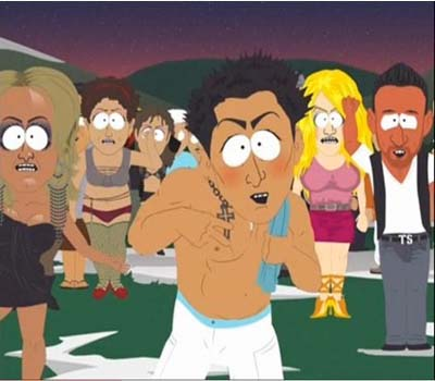 Behind the scenes of South Park