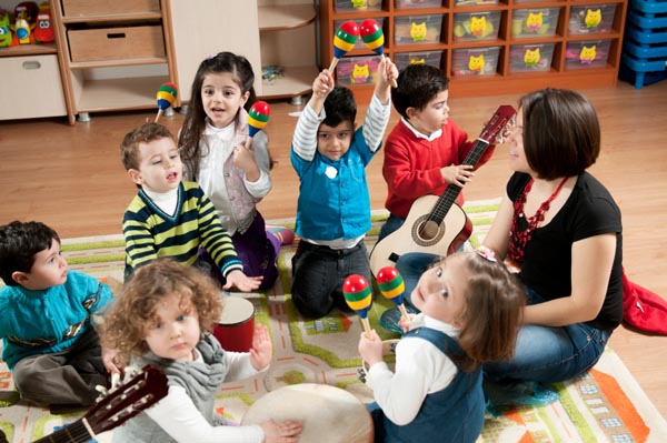 Preschool classroom