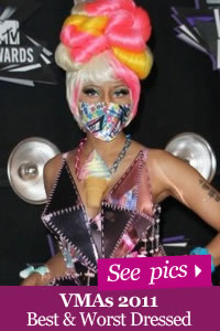 VMA Fashion Best and Worst Dressed 2011 pics