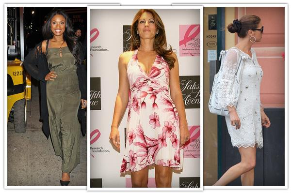 Apple body - casual dresses