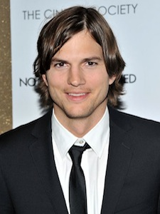 Ashton Kutcher and his Diva Trailer