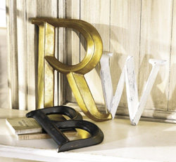 Display your initials proud!