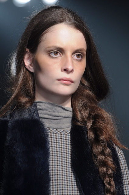 Band of Outsiders Fall 2011 Braided Ponytail