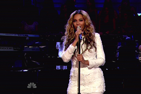 Beyonce on Jimmy Fallon July 2011