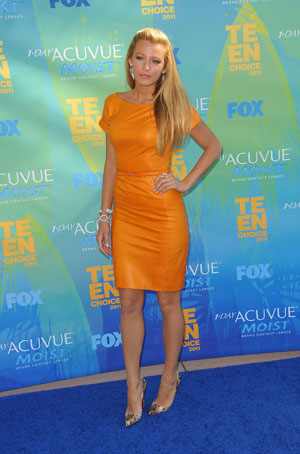 Blake Lively at the Teen Choice Awards