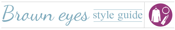 Brown eyes style guide