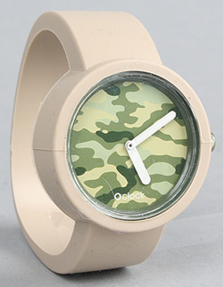 Camo-face watch