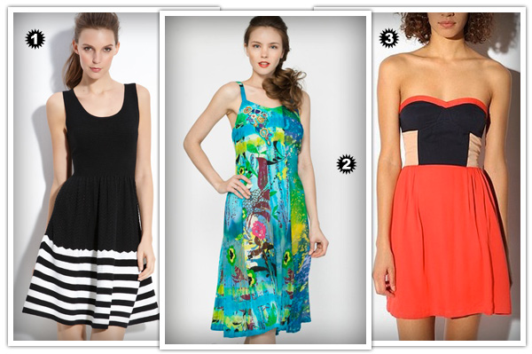 Casual dresses for wedge shapes