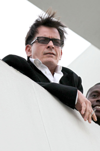 Charlie Sheen wishes Kutcher luck