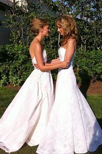 Chely Wright marries Lauren Blitzer