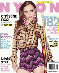 Christina Ricci -- Nylon magazine