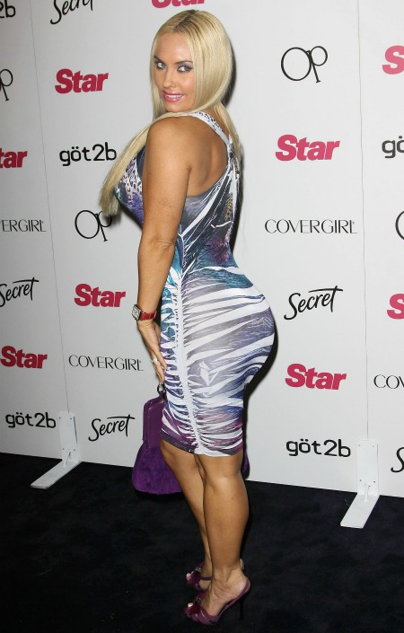 Coco Austin butt