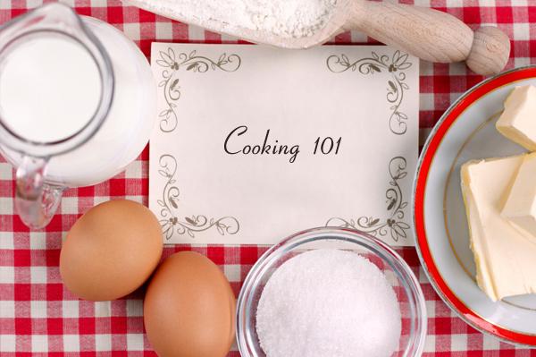 Cooking 101 Recipe book