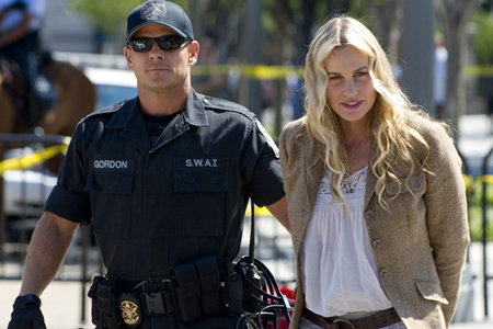 Daryl Hannah arrested