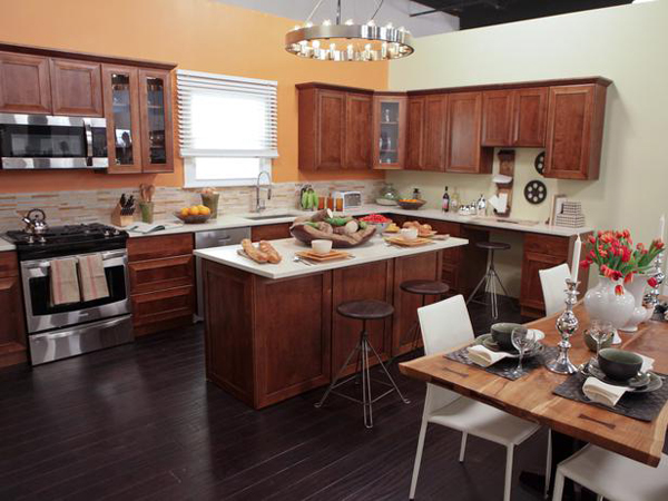 Karl and Cathy's contemporary kitchen