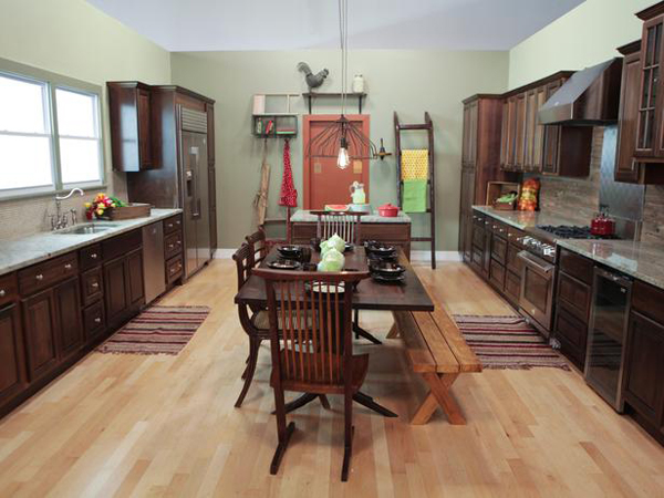 Mark and Kellie's farmhouse kitchen