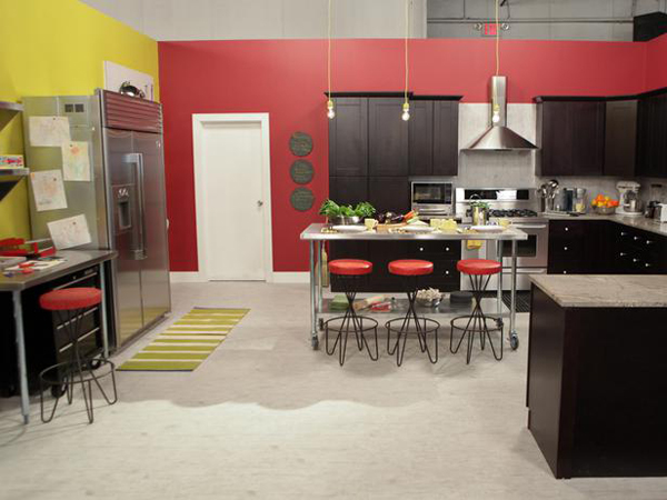Meg and Kevin's Loft-inspired kitchen
