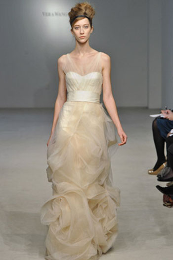 Vera Wang wedding dress 2