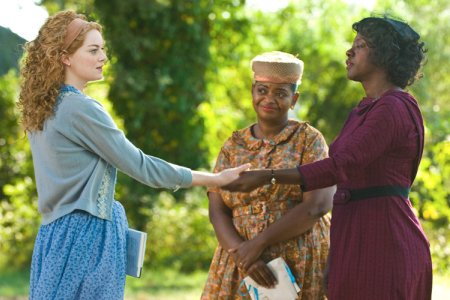 Emma Stone, Octavia Tate and Viola Davis go back to an ugly time in The Help