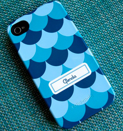 Whimsical Scallop iPhone 4 Case