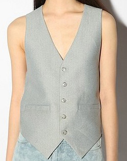 Seen here: Urban Outfitters Menswear Vest, $29.99