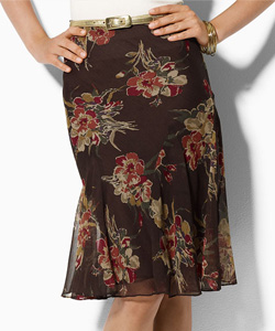 Ralph Lauren floral skirt 