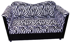 Zebra Print JOE Loveseat