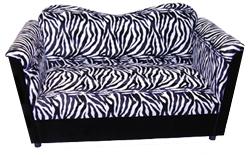 Zebra Print JOE Loveseat
