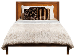 Faux Fur Shaggy Duvet