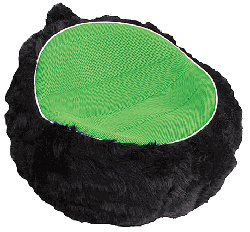 Lumisource Furry Pod Chair
