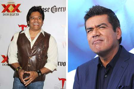 George Lopez and Erik Estrada's feud