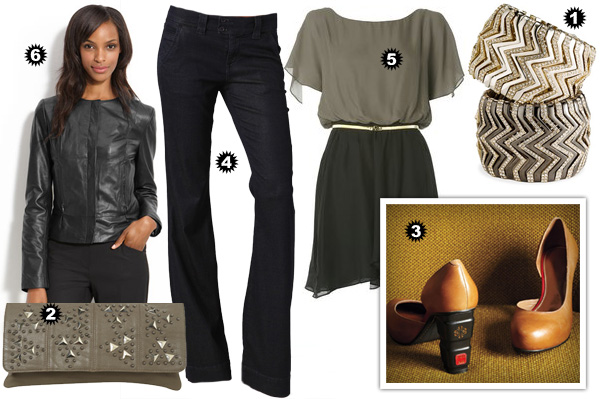 Stylish girls' night looks